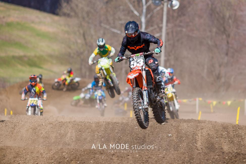 There Were Some Great Battles That Took Place At The Malvern Mx Area Qualifier