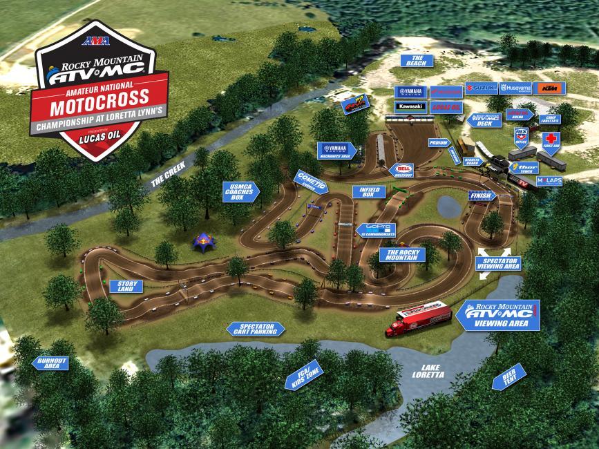2017 Facility Track Maps MX Sports