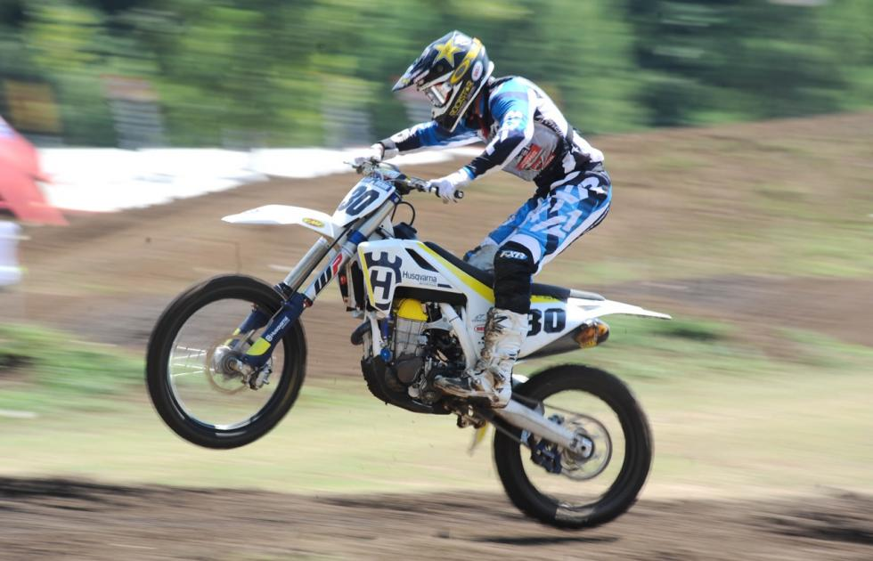 Husqvarna Motorcycles Brand Ambassador, Mike Brown, takes two championship wins at the 2017 Loretta Lynn's Motocross Championship.