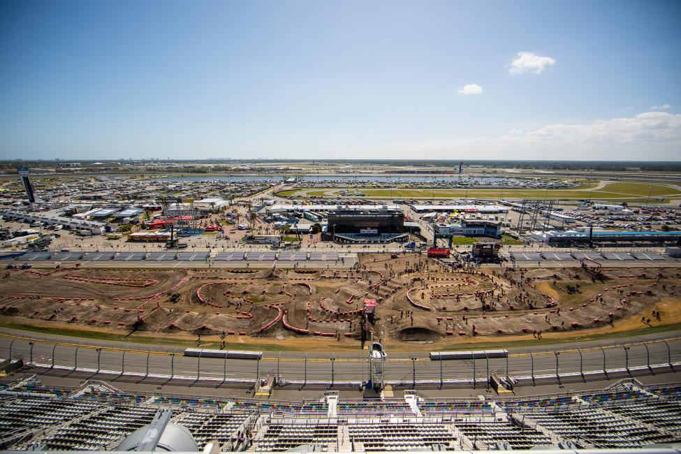 The 2018 American Motocross Championships begin March 11-12 with the 9th Annual Ricky Carmichael Daytona Amateur Supercross.
