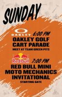 Oakley Golf Cart / Red Bull Moto
