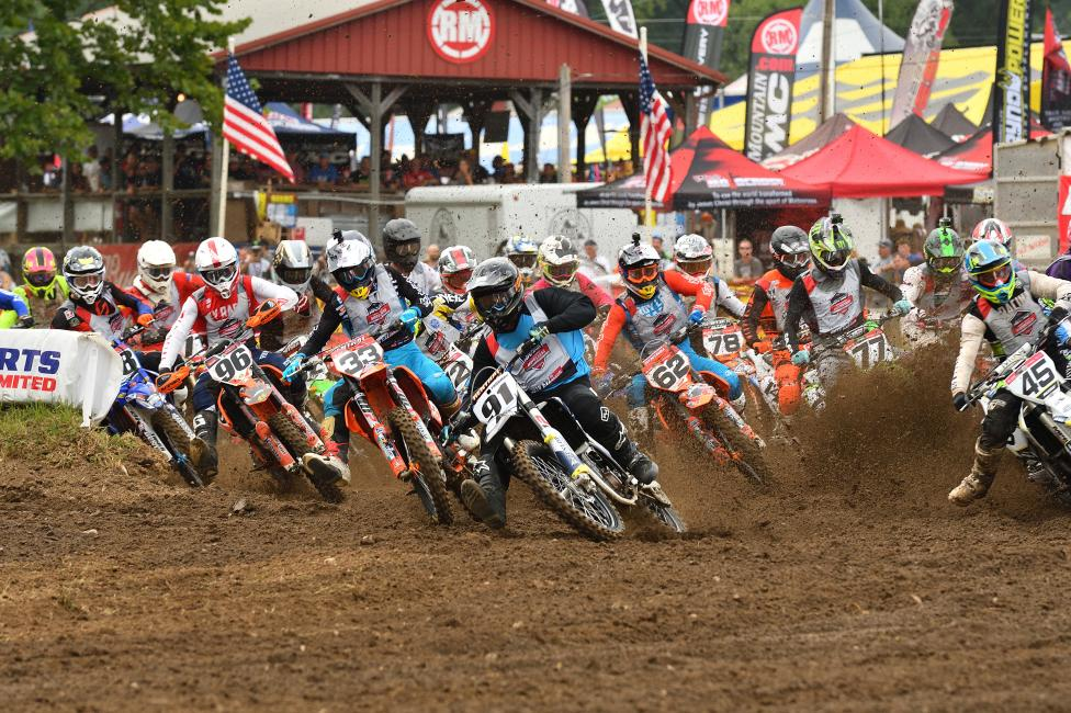 Curren Thurman got the Bell Helmets Holeshoe in the Open Pro Sport class, but Derek Drake would take the moto win.