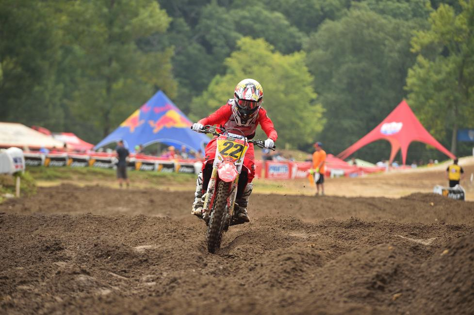 Carson Mumford took the win in the 250 B Limited.