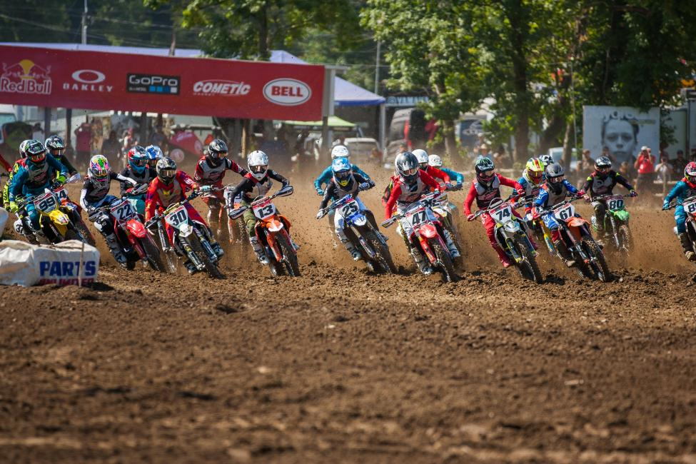 The Open Pro Sport moto one was full of great battles, coming down to the very last tenths of a second.
