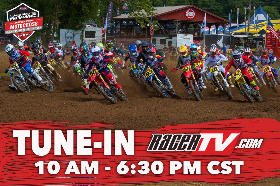 Tune-In Now for LIVE coverage from day three of racing!