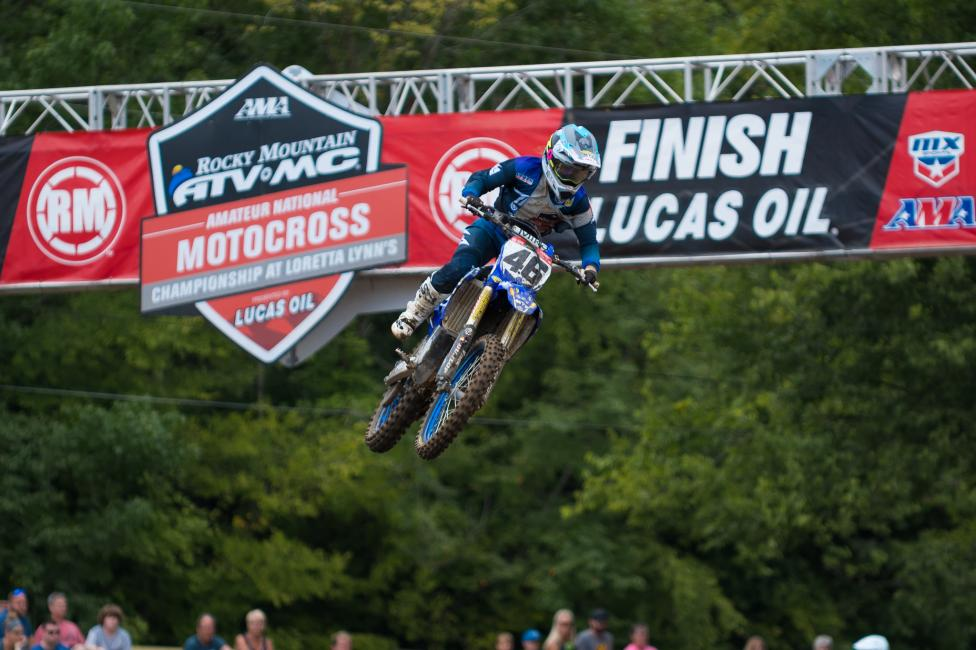 Jazzmyn Canfield took the Women's class moto two win, and sits first overall heading into the third moto.