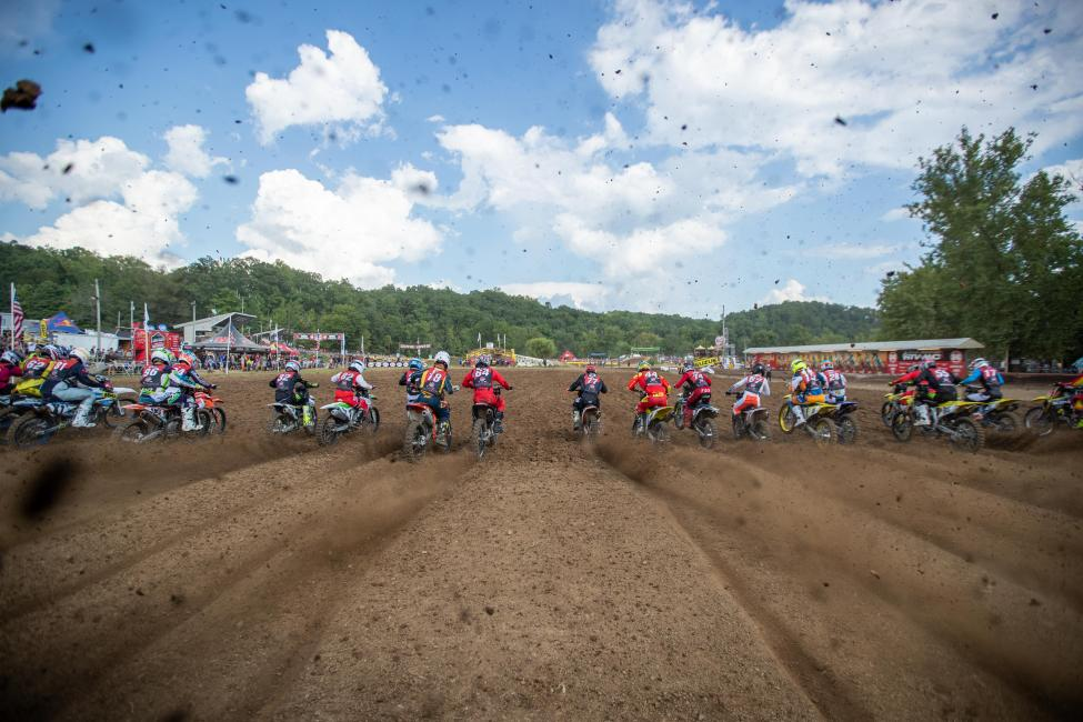 The third motos have started, and Champions are being crowned at the 2019 Rocky Mountain ATV/MC AMA Amateur National Motocross Championship.