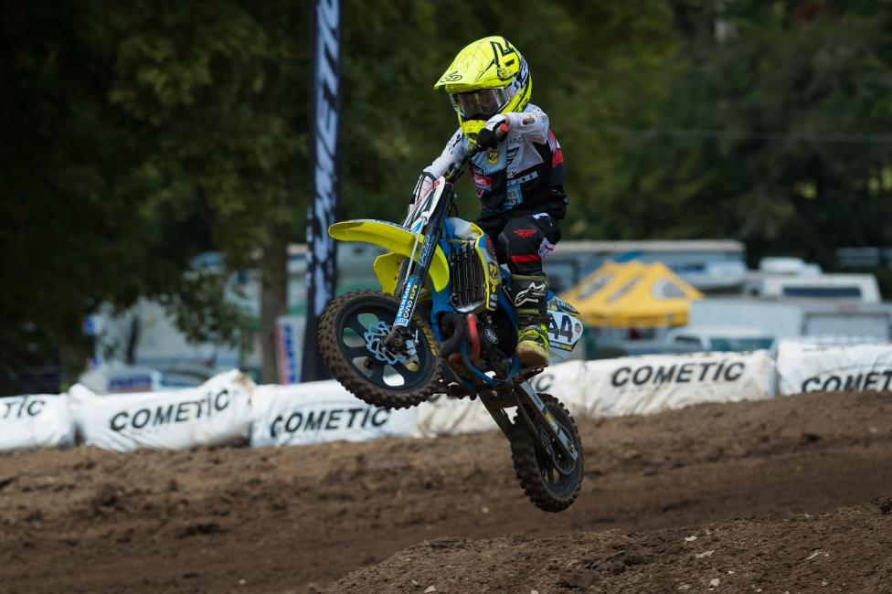Ryder Ellis swept the 51cc (7-8) Limited class going 1-1-1 this week.
