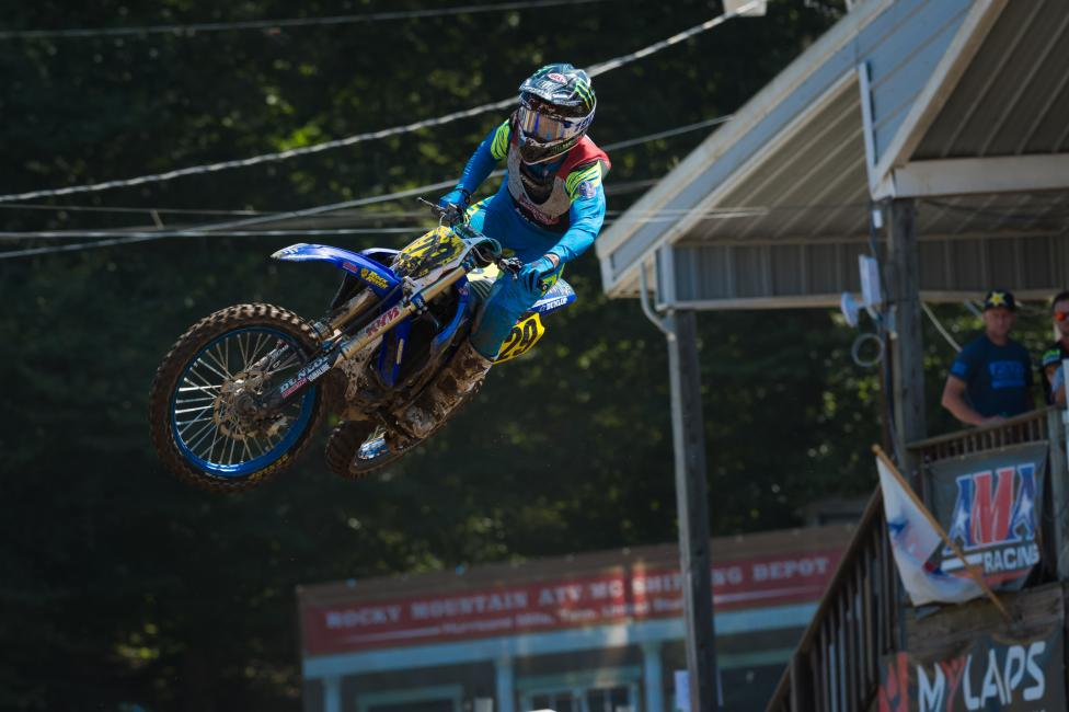 Matthew LeBlanc battled throughout the week to take home the 450 B class championship.