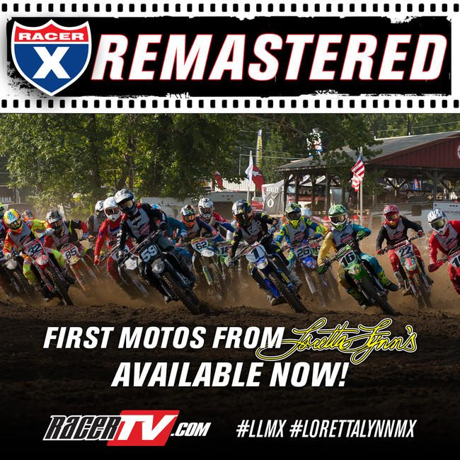 Check out the 2019 Racer X Remastered from Loretta Lynn's on RacerTV.com now!
