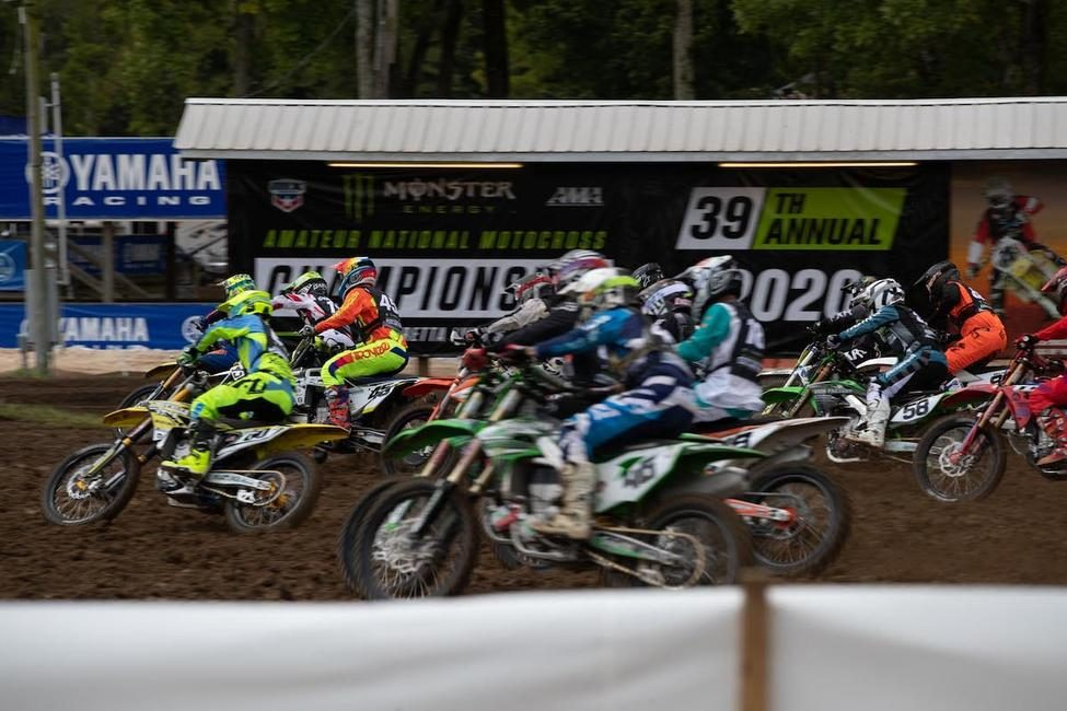 Another day of racing is complete at the AMA Amateur National Motocross Championship.Photo: Derek Garcia